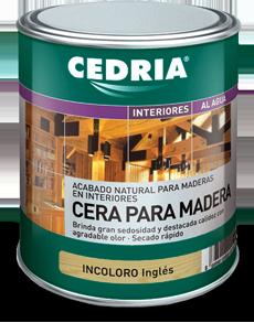 Cedria lasures y barnices for Cera para muebles de madera