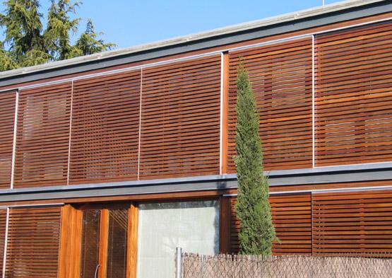 Cedria lasures y barnices for Listones madera exterior